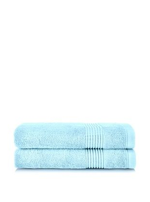53% OFF Chortex Ultimate Set of 2 Bath Sheets, Duck Egg
