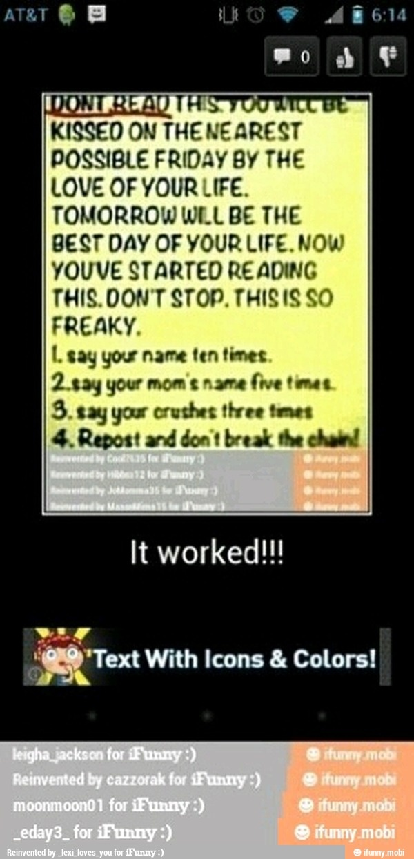 Repost / iFunny :) (I can't repost on iFunny so I'm posting it on here)