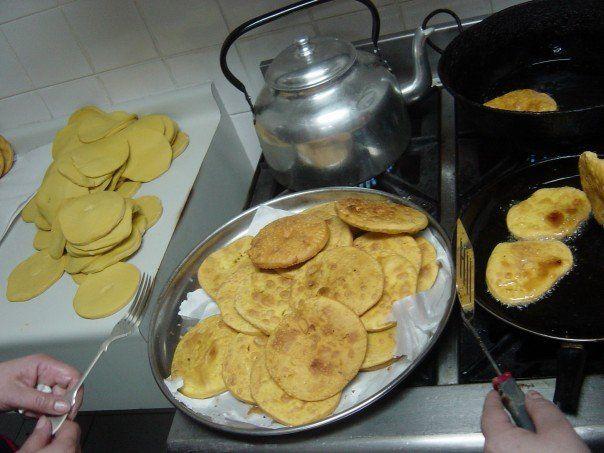 just cook already: Chilean Sopapillas