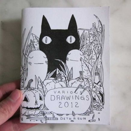 Various Drawings 2012 Zine | Little Paper Planes