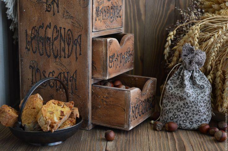 """Купить """"Легенда Тосканы"""" Мини-комод для сухофруктов - мини-комод купить, мини-комод для кухни"""