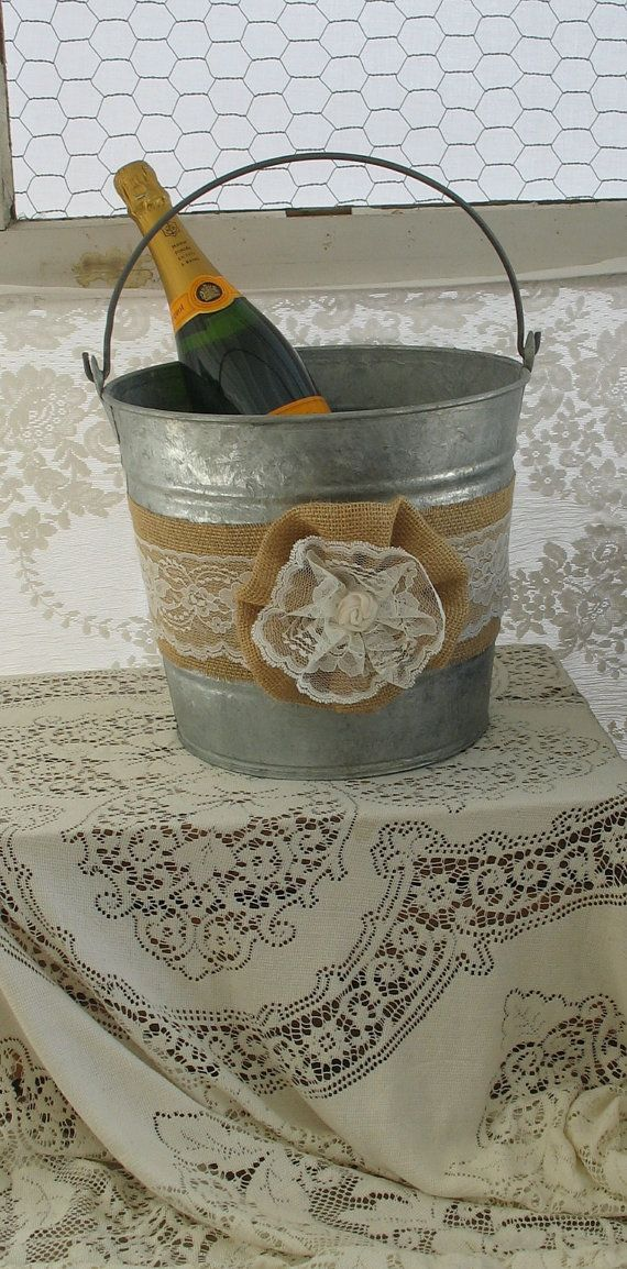 Fill with huge pinecones or neighbor cookie treats and put a burlap