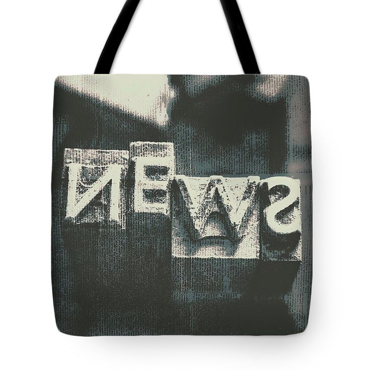 Paperboy Tote Bag featuring the photograph Newspaper Printing Press Art by Jorgo Photography - Wall Art Gallery