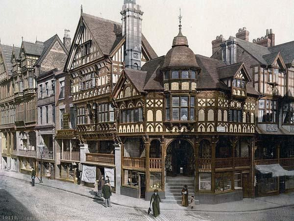 history of english towns and villages | La ciudad de Chester en la historia
