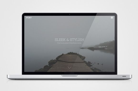 Check out Port by themetrust on Creative Market
