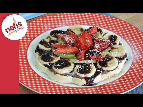 Waffle Nasıl Yapılır?   Pratik Waffle Tarifi - YouTube