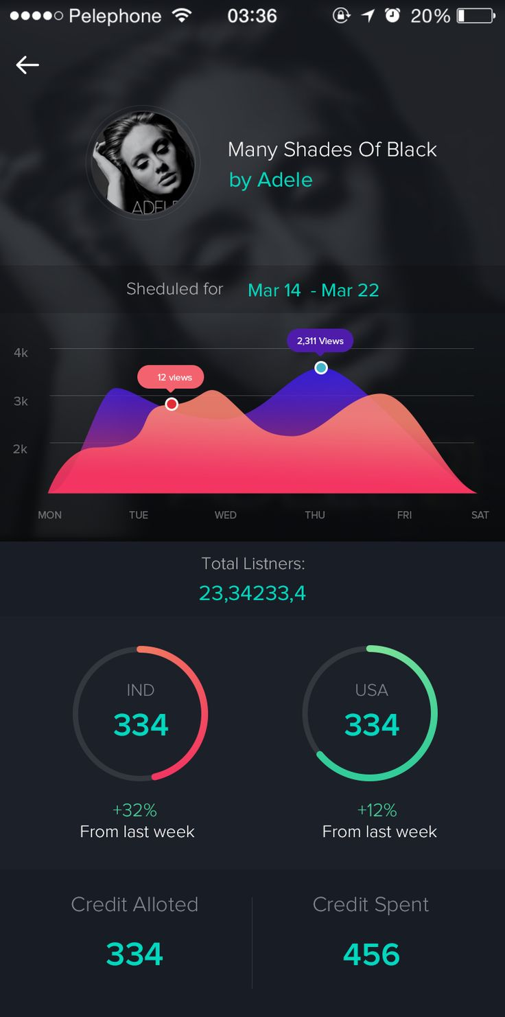 Music Statistics bysumit chakraborty