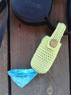 Ravelry: Simple Crocheted Poop Bag Holder pattern by Mama Kat