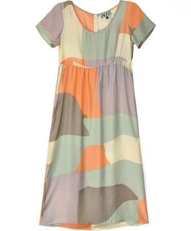 Long Tee Map Dress