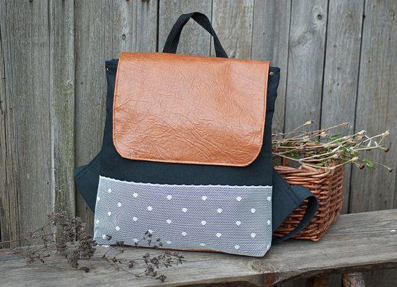 handmade backpack by www.FoxyCrafts.ru   #handmade #crafts #bag #bags #textile #polkadot #backpack #backpacks #рюкзаки #рюкзак #рюкзачок #sew #handcrafted #handmadebag #hamdmadebag #шитье #рукоделие #ручнаяработа #сумка #сумки #сумкиручнойработы #awesome #besthandmade #beautiful #warm #scandinavian #stripes