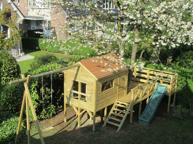 Salon jardin hartman resine cabane jardin sur - Cabane de jardin en resine ...