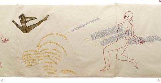 nancy spero: A nő alakokat ábrázoló képeinek nagy részét az ókori görög tekercsek valamint a trójai történelem ihlették, melyből olyan egyéni hangvételű művek születtek. Bár a mitikus témákat, anyákat, gyermekeket, szerelmespárokat, prostituáltakat és hibrid, emberi-állati formákat festő Spero feminista nézeteket vallott, azért házasságban élt, méghozzá a festő Leon Golubbal, akihez 1950-ben ment hozzá Chicagóban.