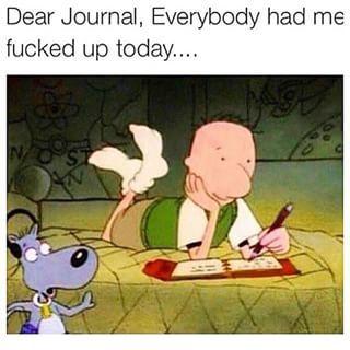 Dear Diary Doug meme - Google Search