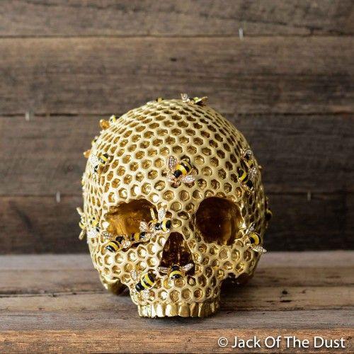 Bee Hive Skull