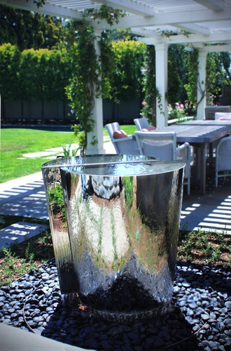 Eclectic Outdoor Fountains. This one is from saltair! Beautiful!