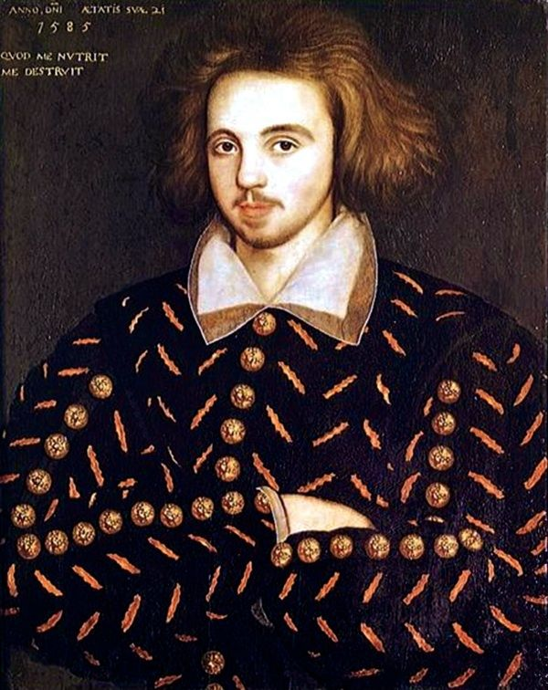 Christopher Marlowe, 1585