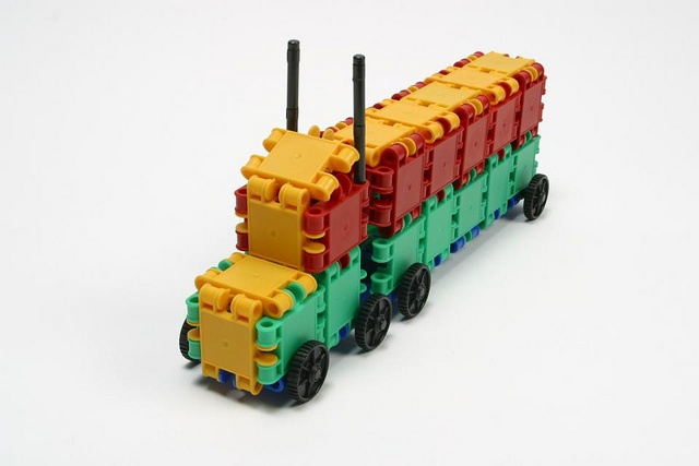 -- Check out these wonderful Clics toy sets.
