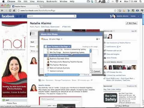 How to use the share button on Facebook. www.nataliealaimo.com