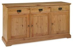 Provence Oak Wide Sideboard http://solidwoodfurniture.co/product-details-oak-furnitures-4053-provence-oak-wide-sideboard.html