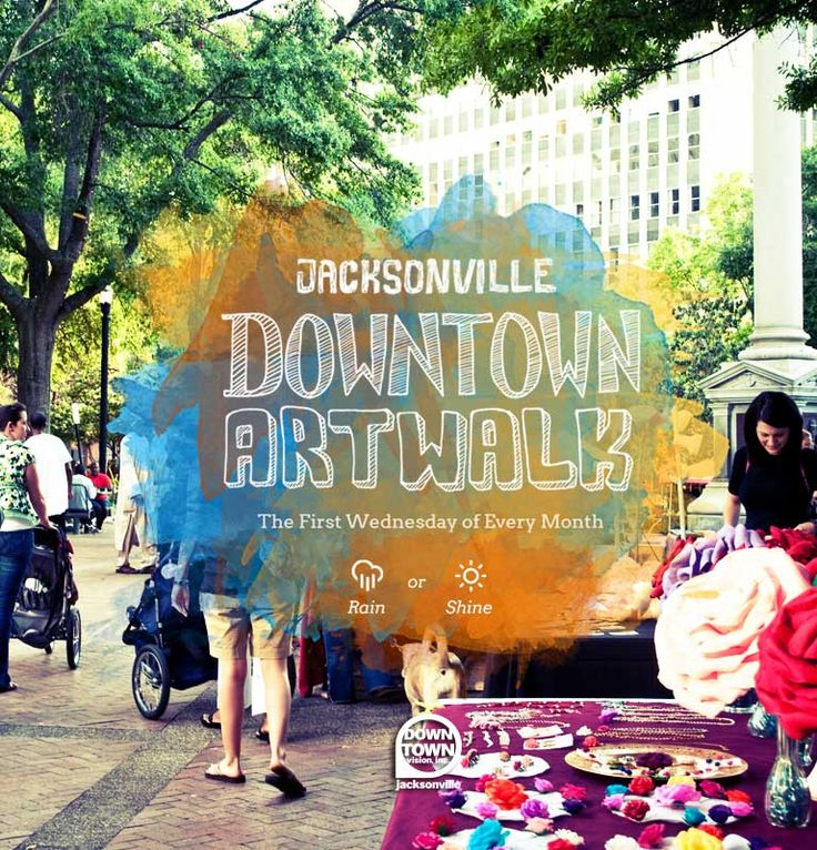 Jacksonville Art Walk | really artsy website. Great photos and great typography. All around helpful and well designed website