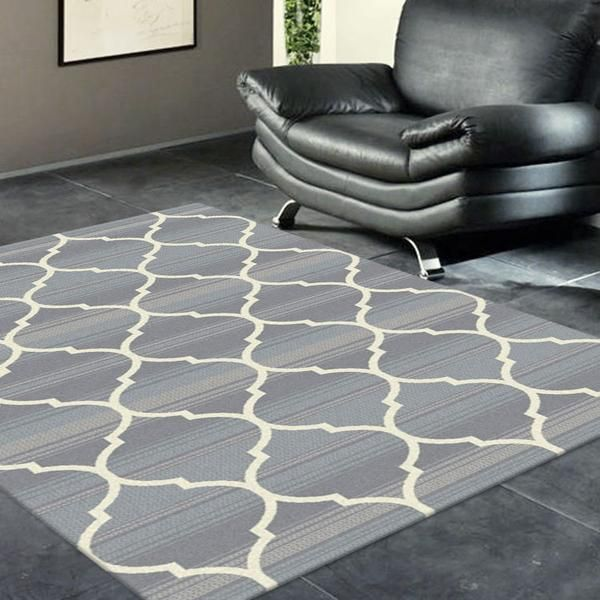 Trellis rugs can like our Caldwell Lattice Grey Trellis Patterned Modern Rug add a luxurious, modern, stylish touch to any room