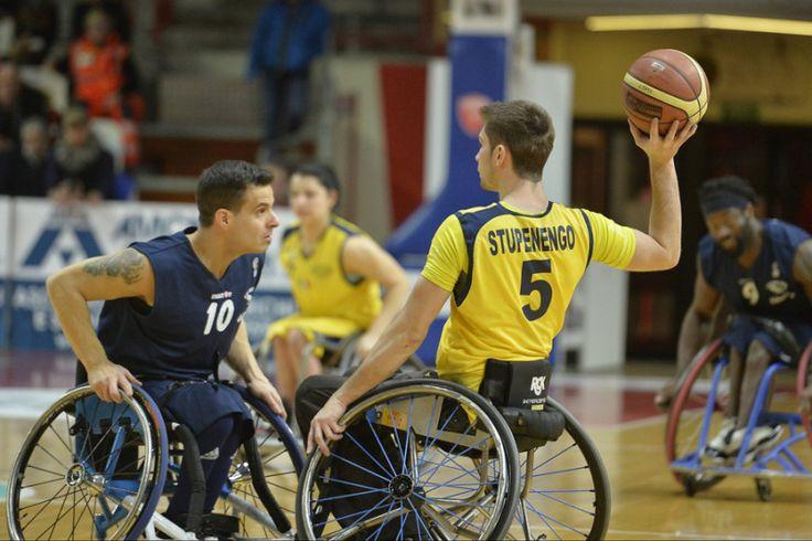 Basket in carrozzina-FIPIC, Gara1 è del S.Lucia Roma che batte GSD Porto Torres in trasferta
