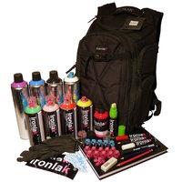 Ironlak Backpack Set - XXL (45 Teile) - Graffiti Shop Berlin - Das Original Graffitiboxshop.de - Graffiti Stuff aus Berlin