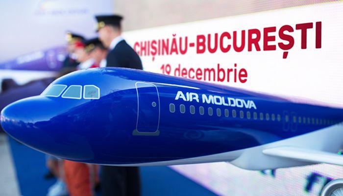 Inaugurare rută: Chișinău – București cu Air Moldova
