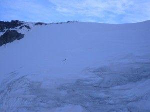 Fletschhorn  glacier.