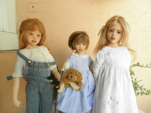 For adoption ! Ooak Cernit artist dolls made by me. by evynadollies, via Flickr