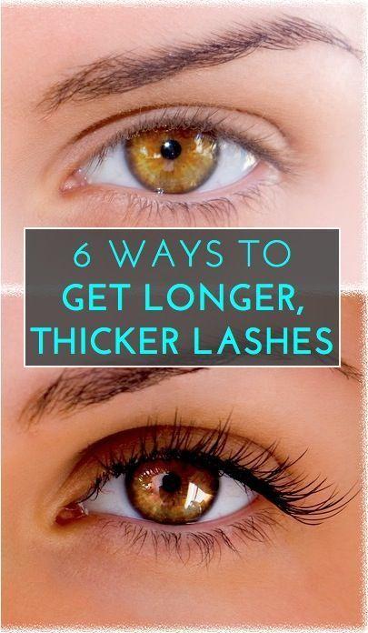 25+ best ideas about Make eyelashes longer on Pinterest | Thicker ...