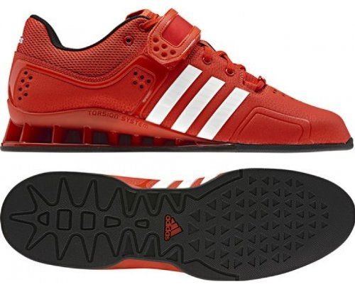 Adidas Red And Black Cross Trainer Shoe