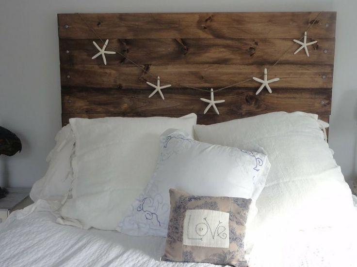 cabeceros de madera fabricados desde cero y decorados a tu gusto