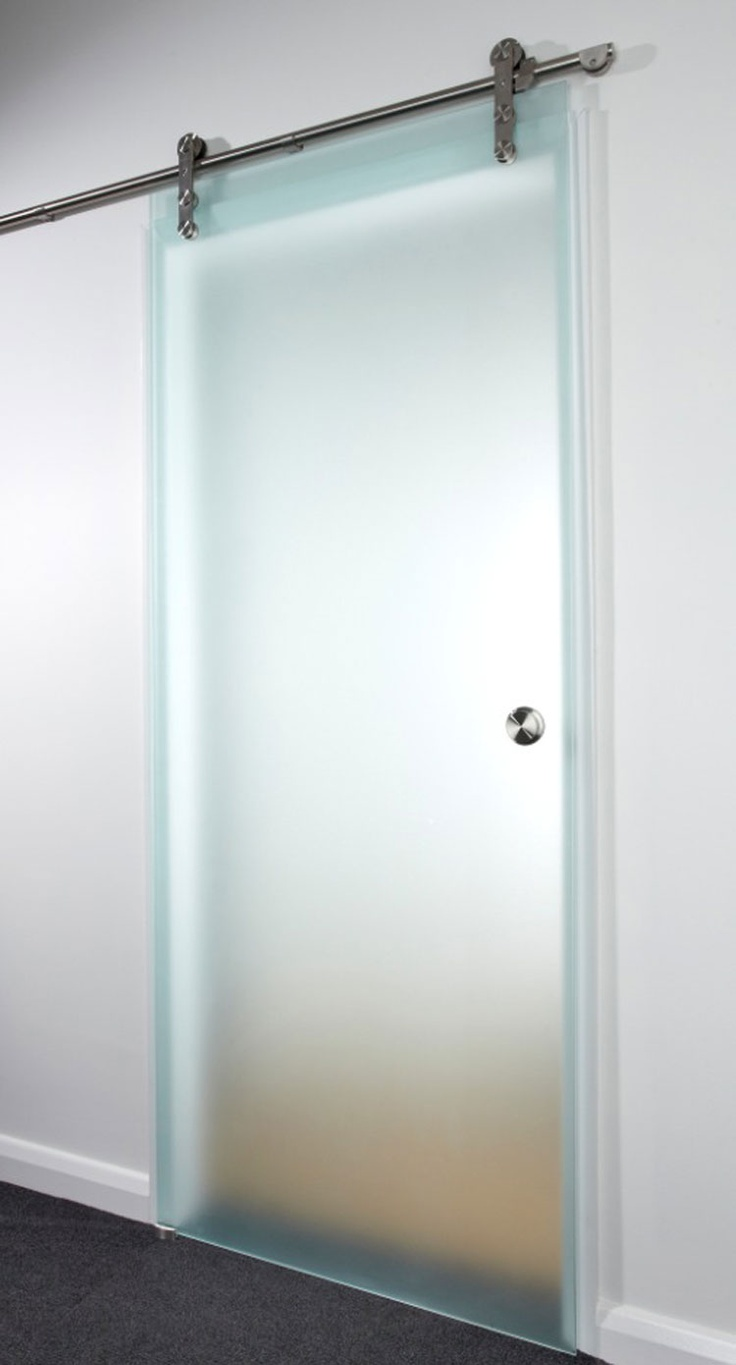 frosted glass door for ensuite/wardrobe