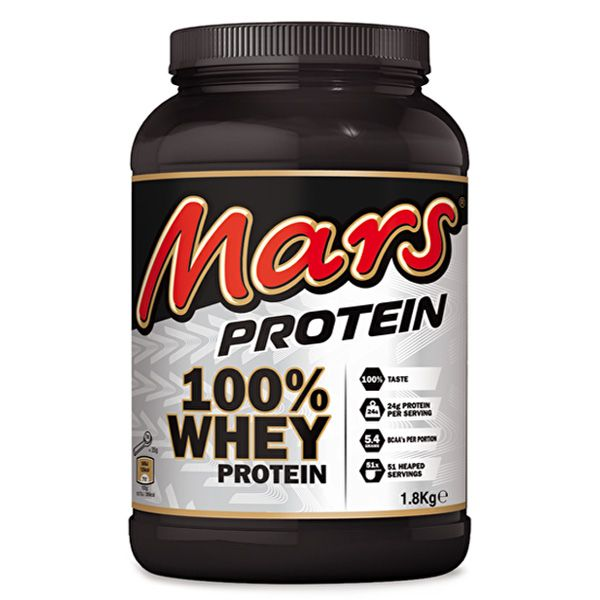 Mars 100% Whey Protein (1.8 Kg) The new product by Mars Inc is a 100% Whey protein powder that has all the flavour of the traditional mars bar but is made using three different forms of whey protein. The nutrition breakdown of Mars Protein per serving, is 24g of protein from a blend of whey […]