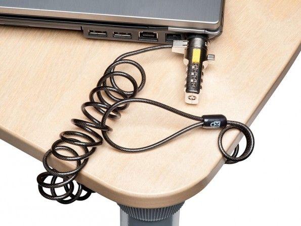 Sicherheit für den Laptop.
