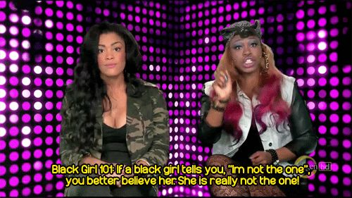 ...bad girls club... hate meghan... love the other one...haha when a girl is fed up