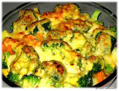 Brócoli con bechamel a la mostaza http://blgs.co/Dl78cp