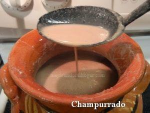 receta atole champurrado mexicano