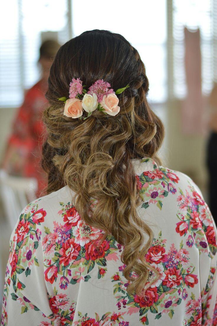 Bridal hairstyle by #thewyeteam  Weddings@wyecosmetics.com.au