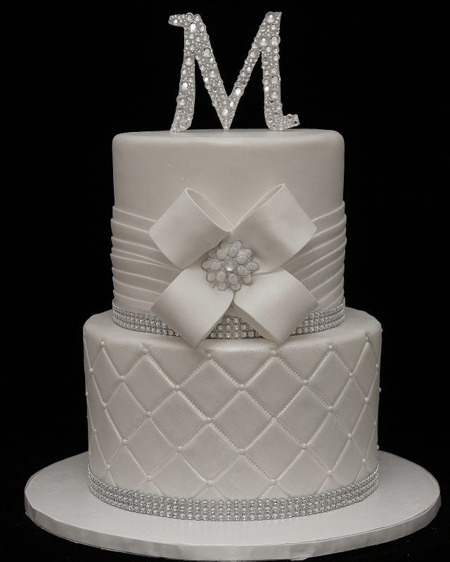 bling wedding cake - Google Search