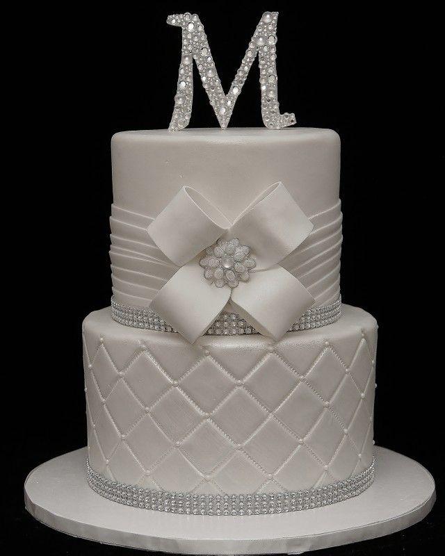 bling wedding cake - Google Search