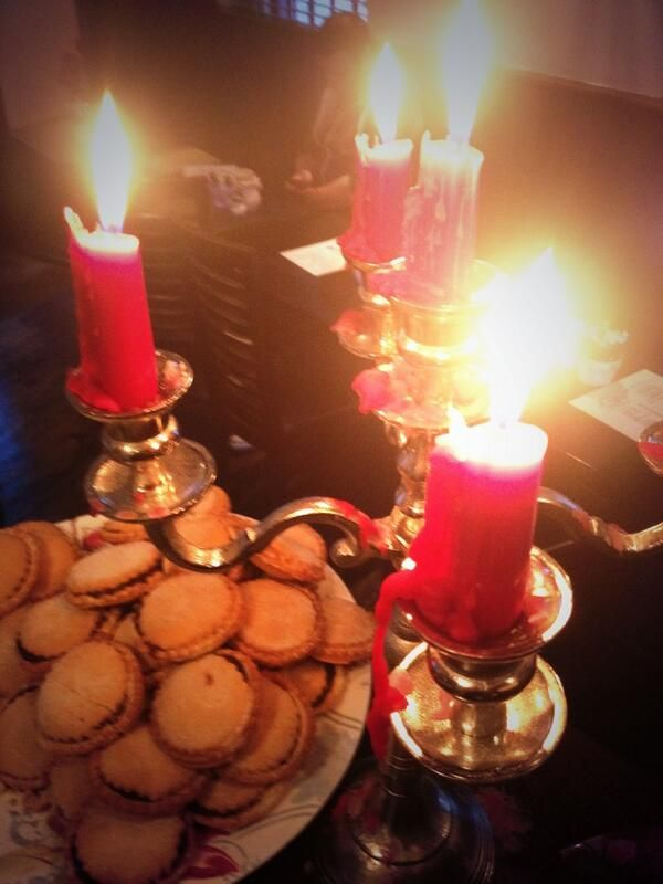Mince pies. Tweeted by @idahocafe