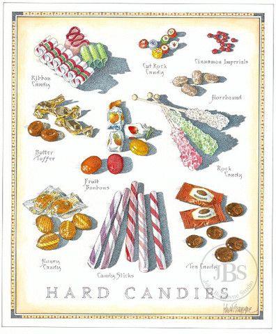 Hard Candies - John Burgoyne Studio