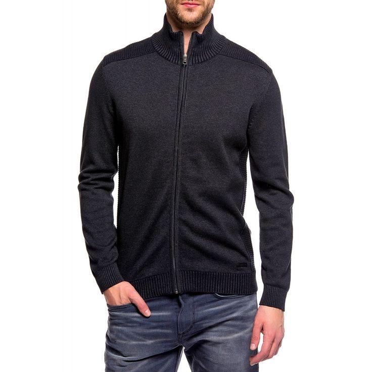 Gilet zippé Tom Tailor Jacket Plated Tom Tailor homme ❤ Livraison Gratuite ✅ Retour Gratuit ✅ Satisfait ou Remboursé ✅ Conseils stylistes gratuits en ligne
