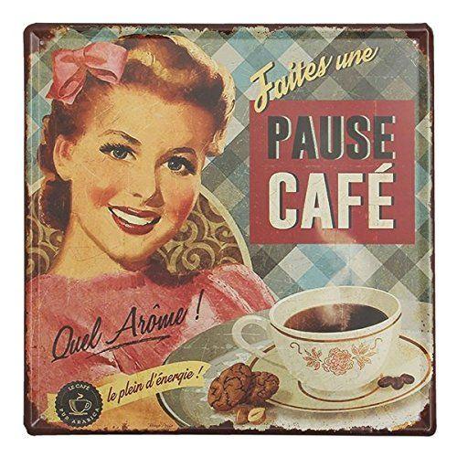 Calli Caffè Targa in metallo placca di metallo vintage decorazione della parete di casa bar manifesto pub