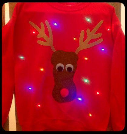 Best 25+ Light up christmas jumpers ideas on Pinterest | Light up ...