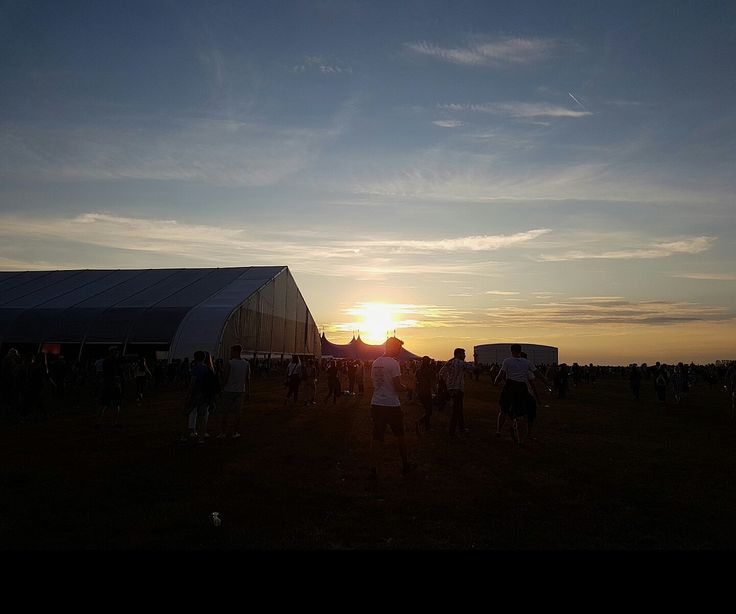 #open'er #festival #2016 #tb #sunset