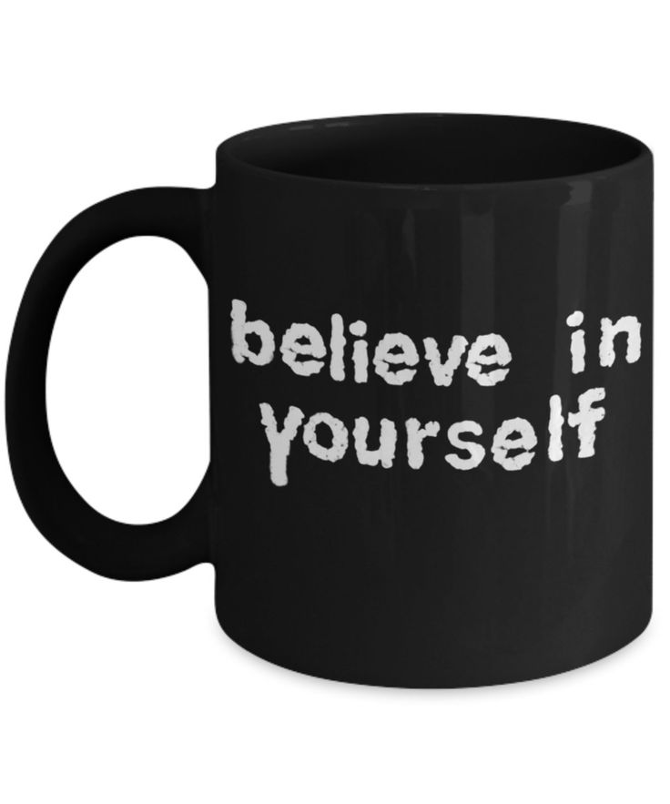 Believe coffee mug.  Believe in yourself mug. Inspiring Coffee Mugs. Ceramic Travel Mug. Great gifts for any occasion. by BearHugBoutique on Etsy