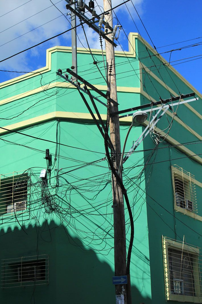 Cuba Santiago Electricite Electricite Electricien